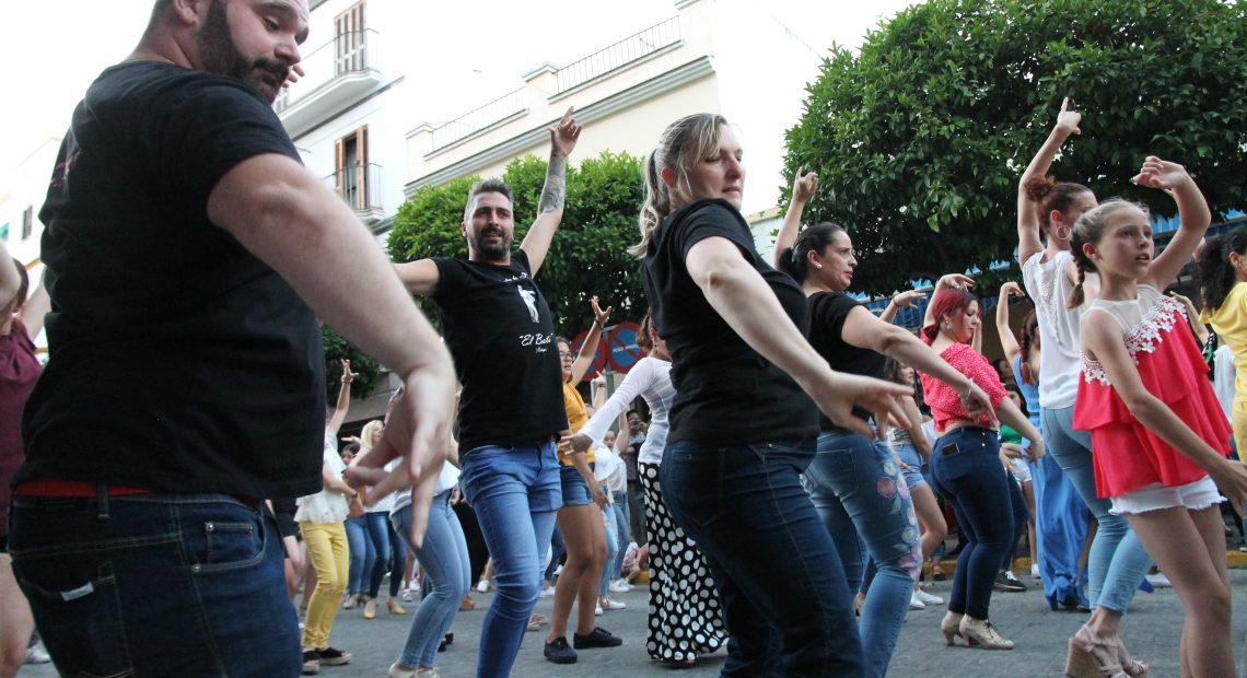 Una exhibición de lo más flamenca