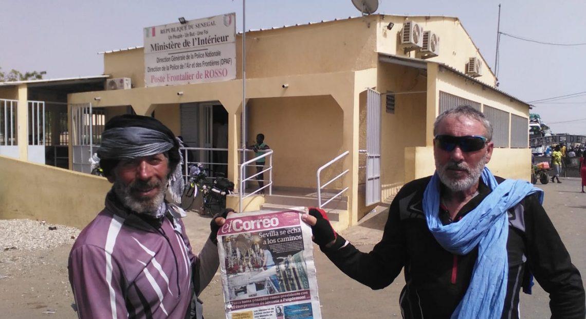 Los Papafrit@ ya están en Senegal