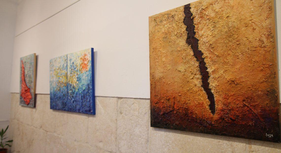 Arte abstracto de Susa Martín en el Museo de Écija