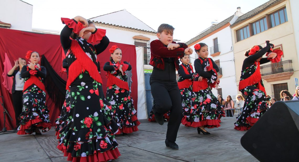 Colón se pone flamenca para ayudar al economato social