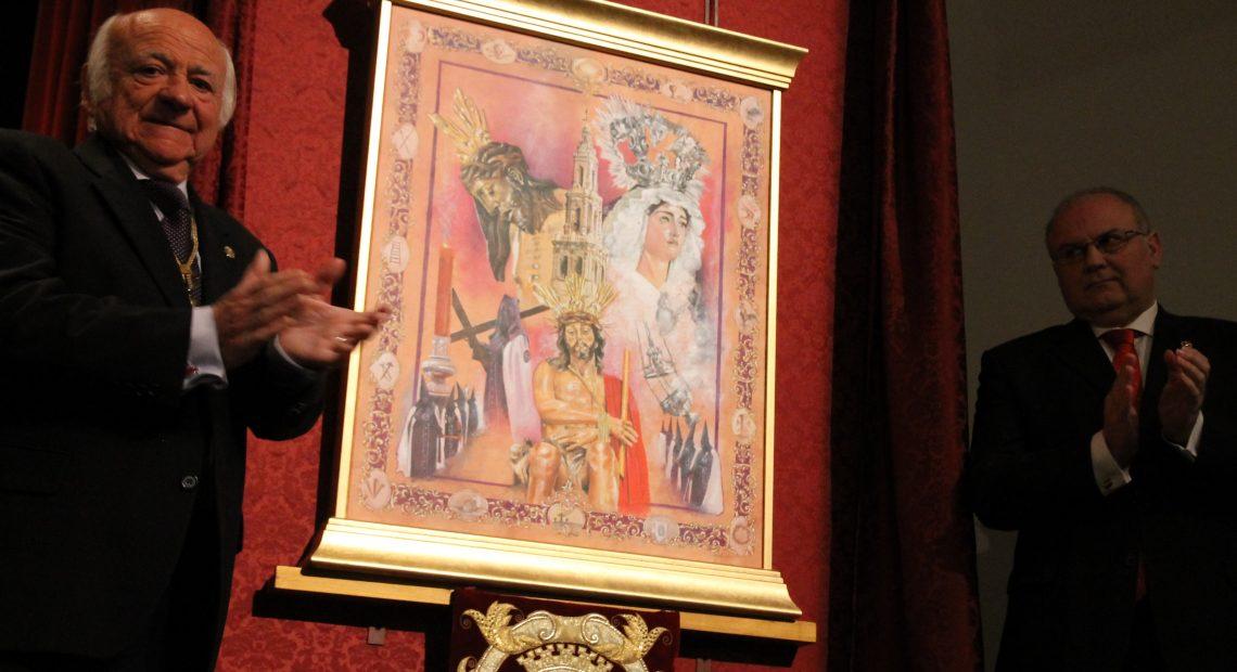 Una cruz como trono para San Gil en el cartel de Semana Santa