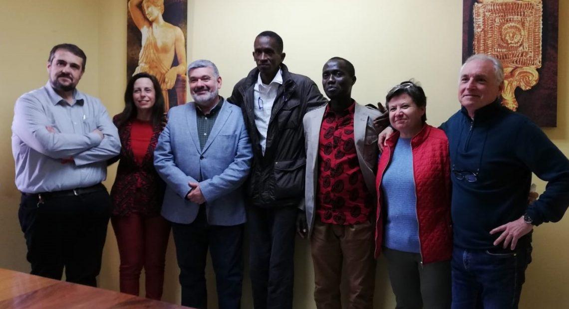 Promotores del proyecto de cooperación Laovo Cande visitan Écija